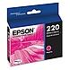 Epson DURABrite Ultra Ink T220 Ink Cartridge - Magenta - Inkjet - Standard Yield - 1 Each