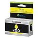Lexmark Return Program Ink Cartridge - Yellow - Inkjet - 500 Page - 1 Each