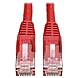 Tripp Lite 20ft Cat6 Gigabit Snagless Molded Patch Cable RJ45 M/M Red 20' - 20ft - 1 x RJ-45 Male - 1 x RJ-45 Male - Red