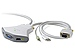 Belkin F1DL102U2 2 Port USB KVM Switch with Cables and Audio
