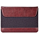 Maroo Woodland Carrying Case (Sleeve) for Tablet, Stylus - Woodland Bordeaux, Bordeaux, Charcoal - Scratch Resistant Interior - Synthetic Leather, Wool Felt