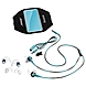 Bose SIE2i Sport Headphones - Stereo - Blue - Wired - Earbud - Binaural - In-ear - 2.63 ft Cable