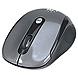 Manhattan Wireless Optical USB Mouse, 2000 dpi, Black/Silver - 2.4 GHz RF technology offers wireless freedom with effective range up to 33'; Windows and Mac Compatible