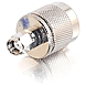 C2G RP-SMA Male to N-Male Wi-Fi Adapter - 1 x RP-SMA Male Antenna - 1 x N-Type Male Antenna - Silver