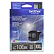 Brother LC-10EBK Ink Cartridge - Black - Inkjet - Super High Yield - 2400 Page - 1 Each