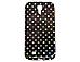 ByTech COV-S4CDOTS Cell Phone Case - Black/ Polka Dots - Samsung Galaxy S4