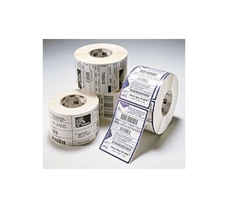Zebra Z-Select 4000T 800274-605 4 x 6 inches Thermal Transfer Paper Label - 475 Labels/Roll, 12/Case