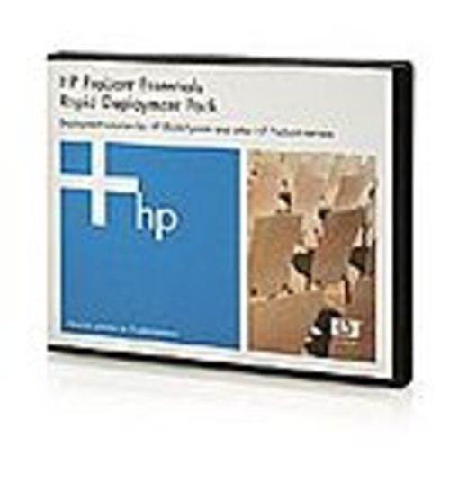 HP ProLiant Essentials Rapid Deployment Pack Flexible License - License + 1 Year 24x7 Support - 1 server - Linux, Win - min. of 5 licenses