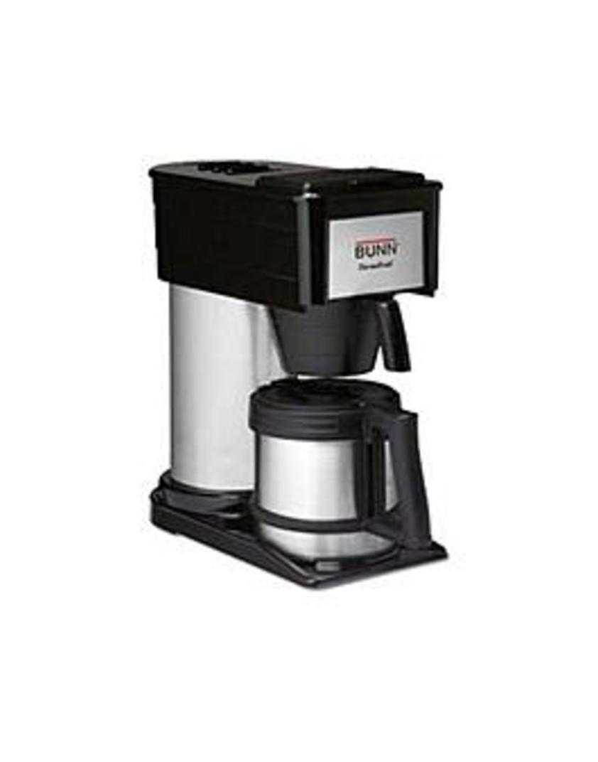 BUNN BTX ThermoFresh 10-Cup Thermal Coffeemaker Stainless-Steel/Black BTX-B