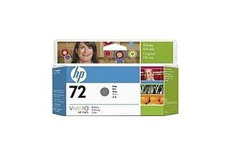 HP C9374A No.72 Inkjet Print Cartridges for Designjet T610 T1100 Printer - Gray