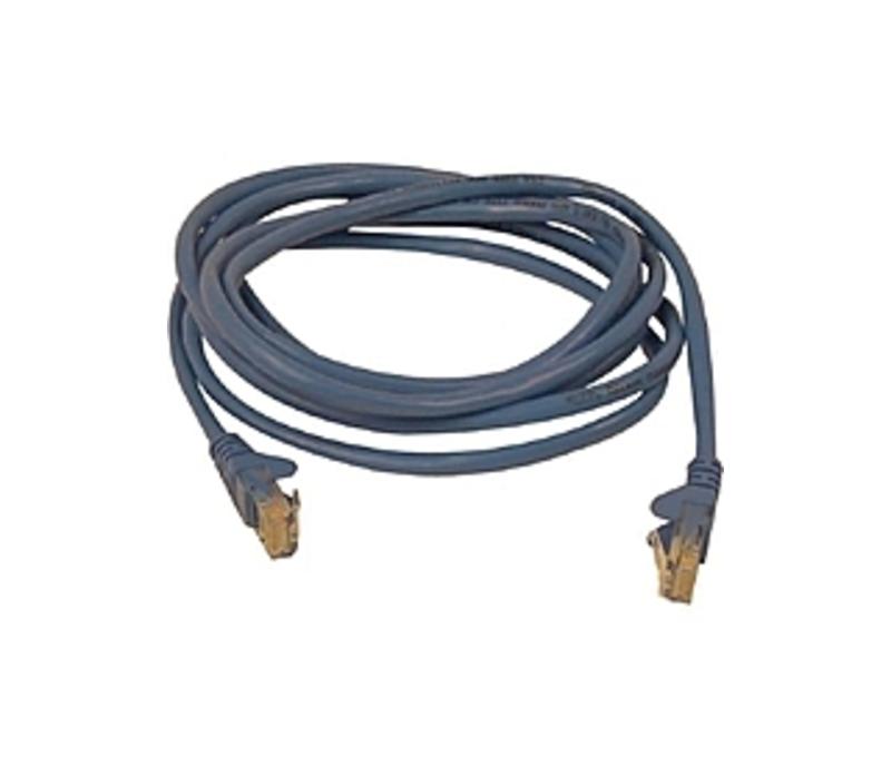 Image of Belkin A3L791-10-BLU-S 10 Feet Cat5e Network Cable - RJ-45 Male/Male - Blue