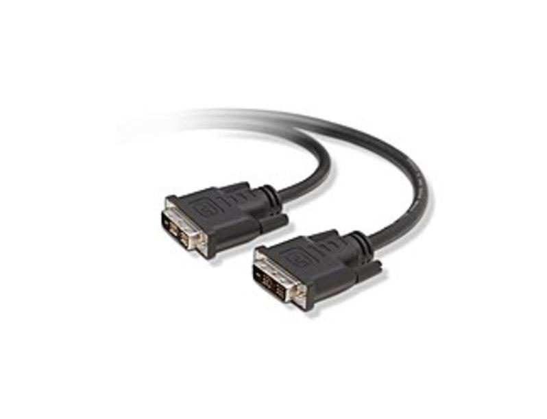 Belkin F2E7171-14IN-SV 1.2 Feet DVI-D Single-Link Cable - 1 x 18 pin digital DVI Male/Male
