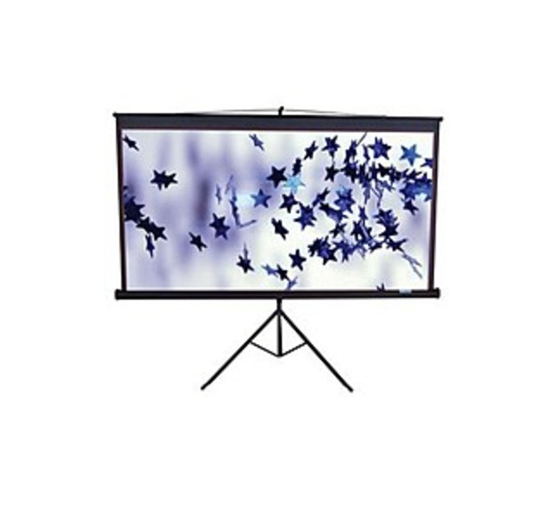 Image of Elite T119UWS1 119-inch Projector Screen - 1:1 - 84 x 84 inches - Matte White
