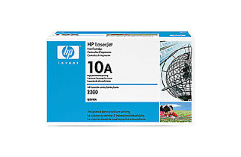 HP LaserJet Q2610A Smart Print Cartridge for 2300, 2300d, 2300dn, 2300dtn, 2300L, 2300n - Black