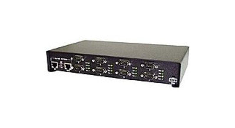 Comtrol DeviceMaster 99443-5 PRO 8-Port Rack-mountable Device Server - Rohs - Black
