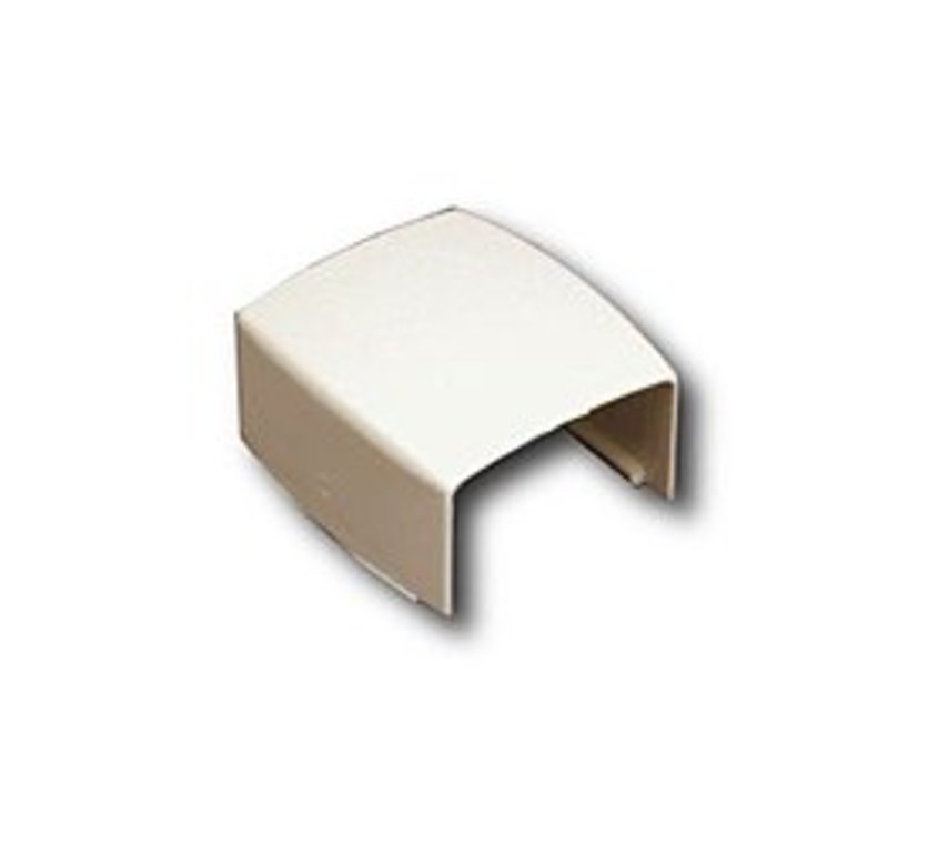 Surface Raceway Cover Clip Ivory - 10 Pack
