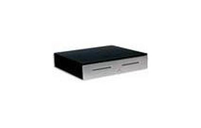 APG 4000 Series JB320-BL1821-C Cash Drawer - Dual Media Slots - 320 MultiPRO 24V - Black