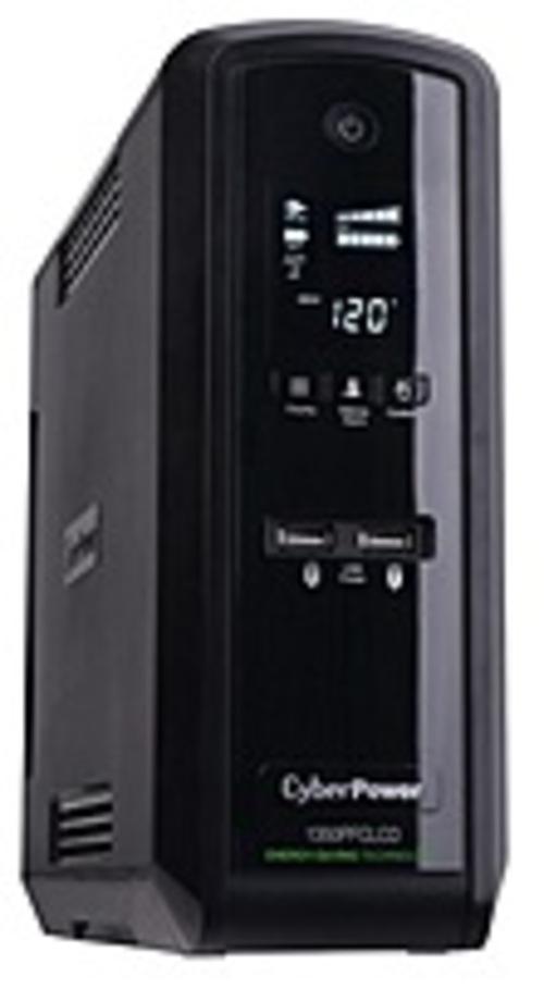 CyberPower PFC Sinewave 1350VA Mini-Tower UPS CP1350PFCLCD