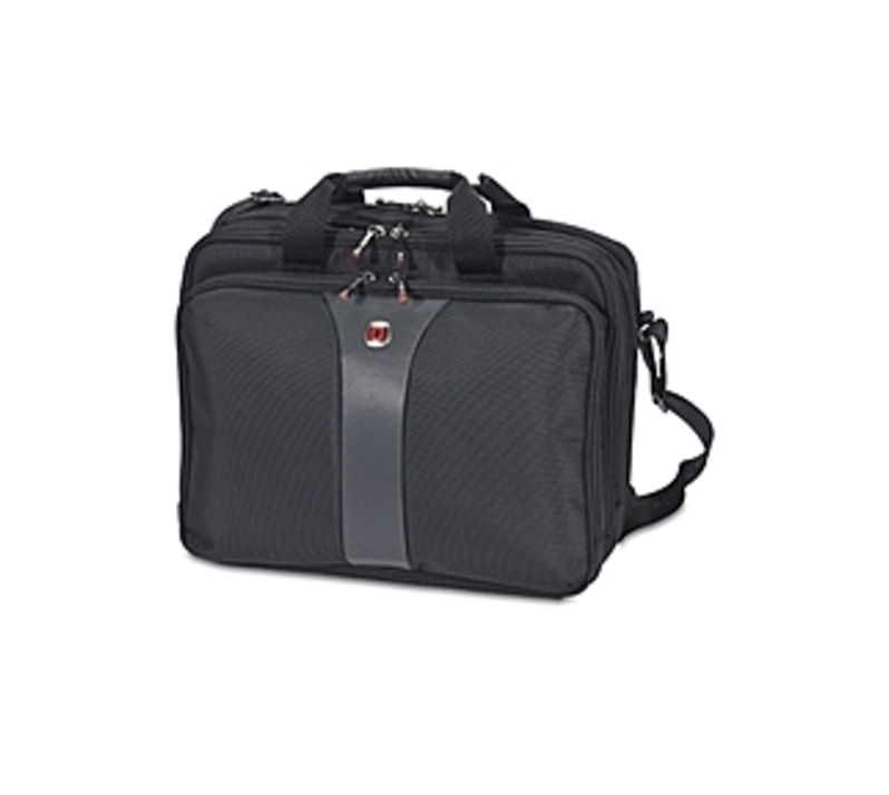 http://www.techforless.com - Wenger SwissGear WA-7654-14F00 Legacy Top Load Double Gusset Case for 15.6-inch Laptop 46.49 USD