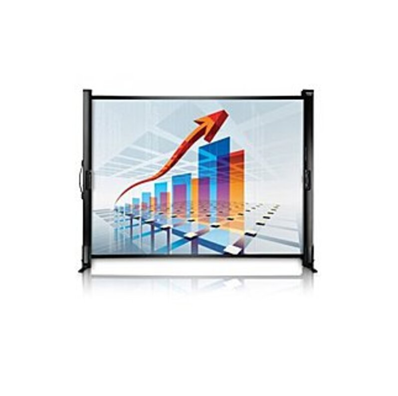 http://www.techforless.com - Epson V12H002S4Y ES1000 50-inch Ultraportable Tabletop Projection Screen – 4:3 – Matte White 79.97 USD
