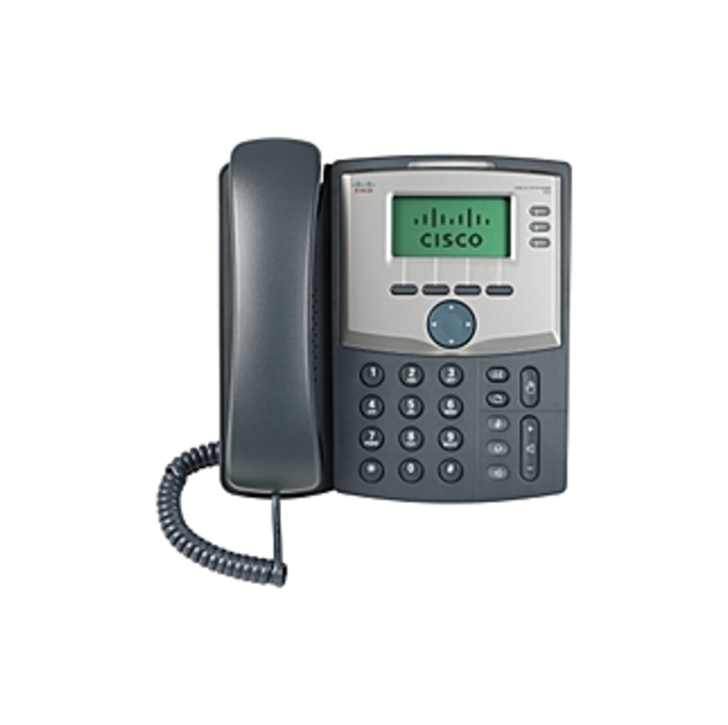 Cisco SPA303-G1 3-Line VoIP Phone - LCD Monochrome Display - 2 x Network (RJ-45) - Caller ID