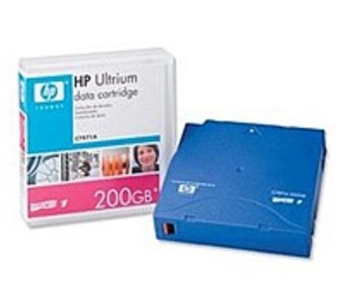 HP C7971A Data Cartridge - LTO Ultrium LTO-1 - 100 GB (Native)/200 GB (Compressed) - 1-Pack - Blue