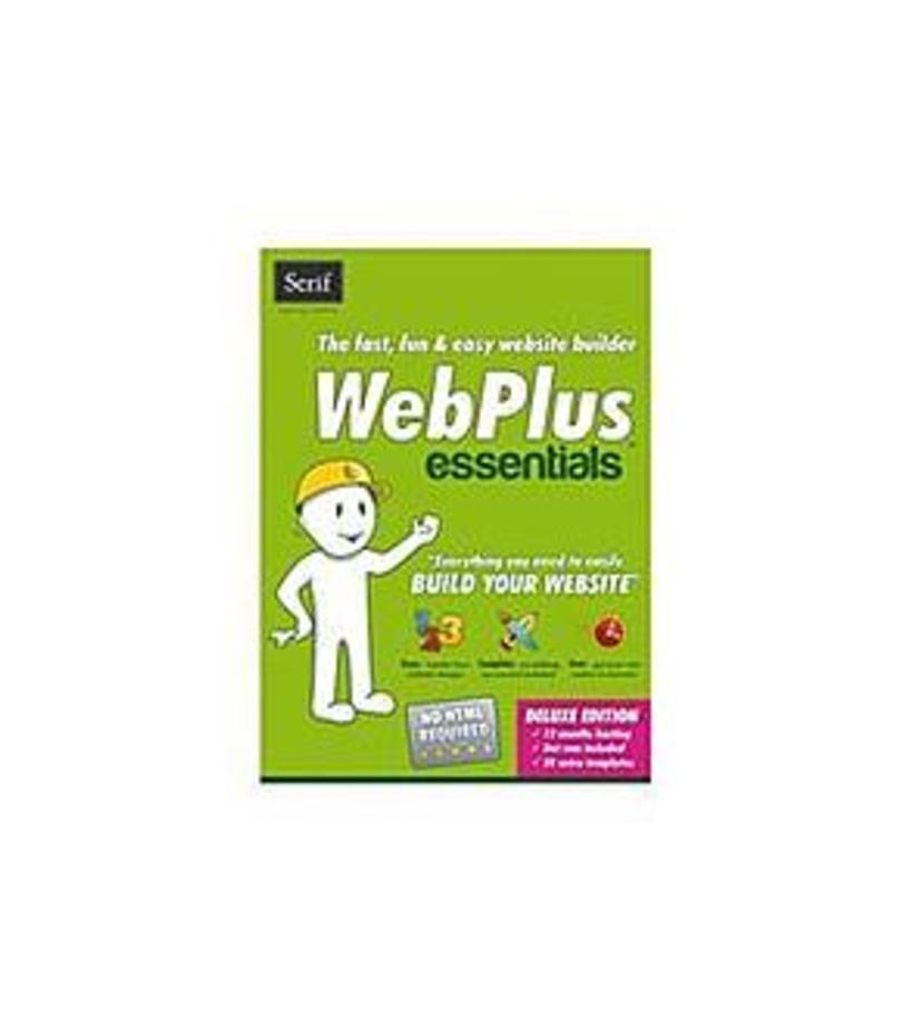 Serif 703115685147 Webplus Essentials Program CD for PC - Web Page Editors - 1 User