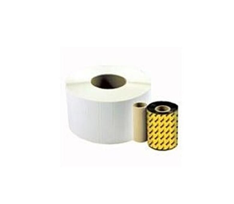Wasp 633808431150 WWX Wax Ribbon for 305, 606 Label Printers - 3.26 inch x 820 Feet
