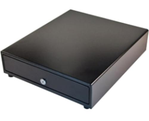 http://www.techforless.com - APG Cash Drawer Vasario Series VP320-BL1416 Electronic Cash Drawer – 14.0 x 16.0 inches – Black 63.97 USD