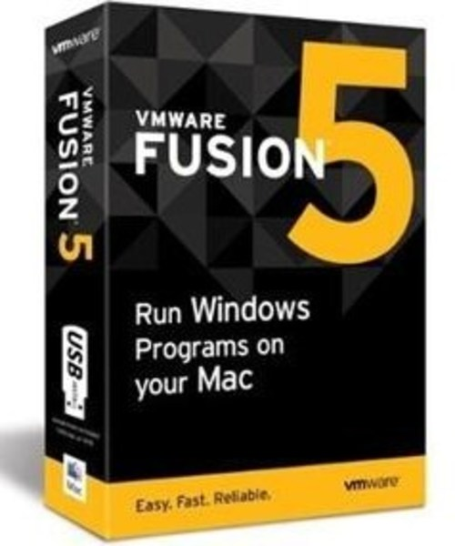 VMware FUS5-MKIT-CP Fusion 5 for Mac - Media Package - 1 Computer - DVD-ROM