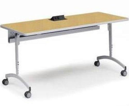Bretford Explore EDUFDP2472 Flip and Nest Collaborative Table with Casters