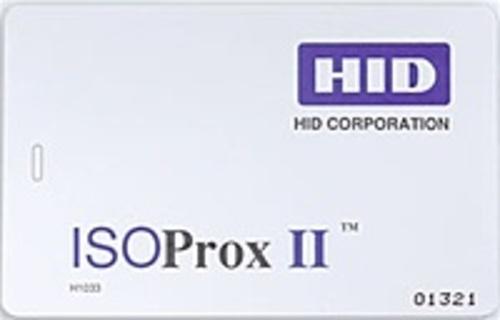 HID 1386LGGMN 1386 125 kHz Standard PVC Programmed IsoProx II Proximity Cards - 1 Card