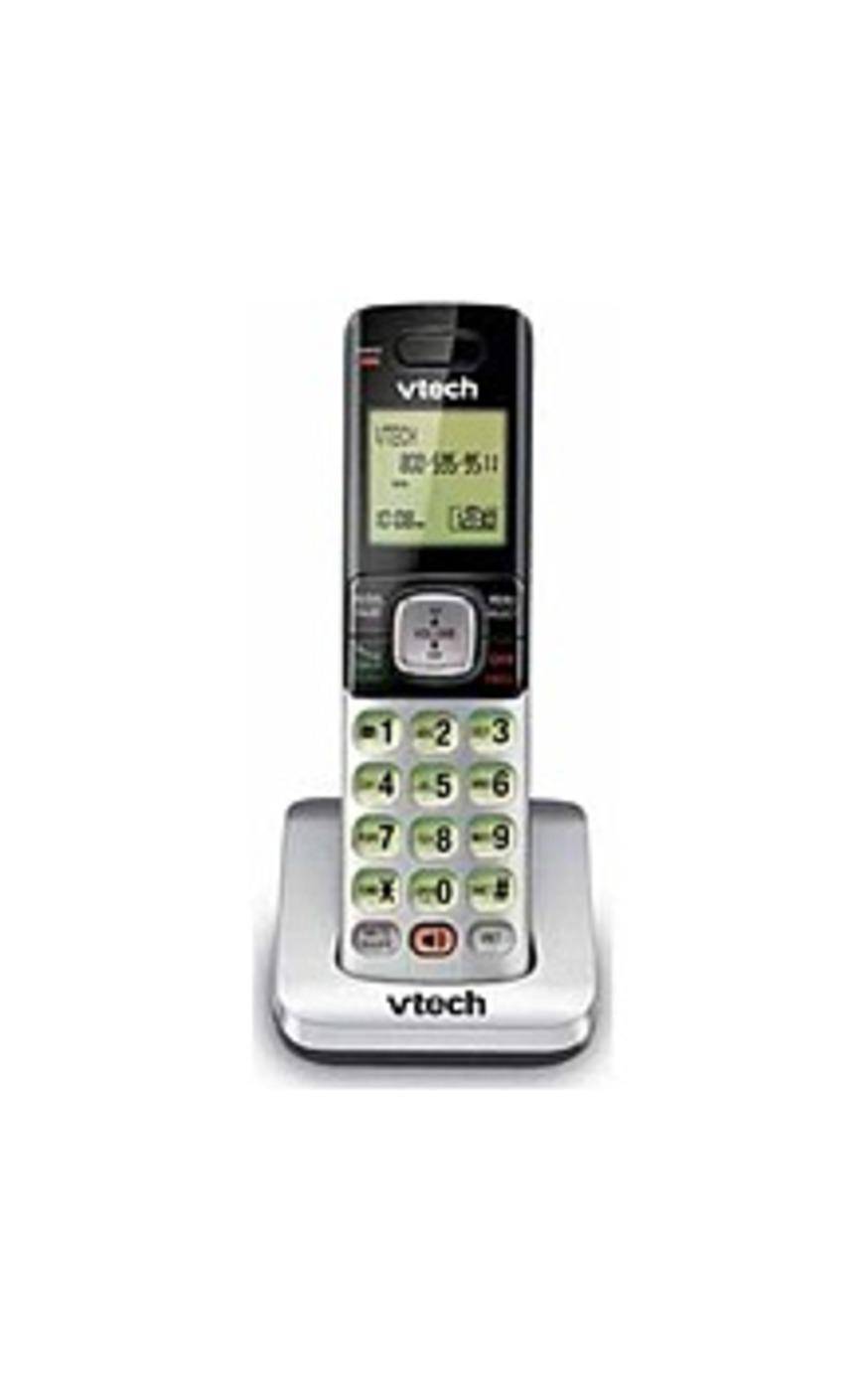 VTech CS6709 Accessory Handset Cordless Phone - DECT 6.0 - Caller ID - Black, Silver