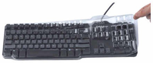 Protect DL1395-104 Custom Keyboard Cover for Dell KB522 Wired Business Multimedia - Polyurethane - Clear