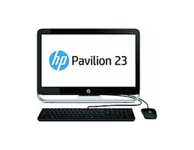 HP Pavilion F3D37AA 23-G010 Desktop PC - AMD E2-3800 1.3 GHz Quad-Core Processor - 4 GB DDR3L-1600 SDRAM - 500 GB Hard Drive - 23.0-inch LED Display -