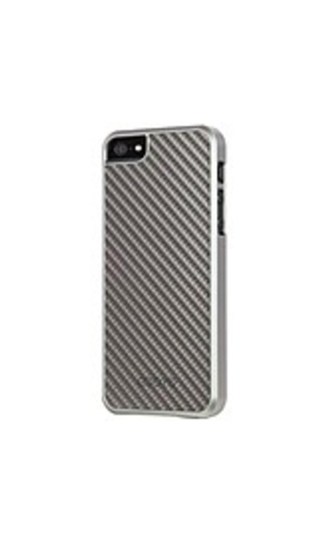 Odoyo METALSMITH Carbon Fiber - LIMINOUS SILVER - iPhone - Liminous Silver Carbon Fiber