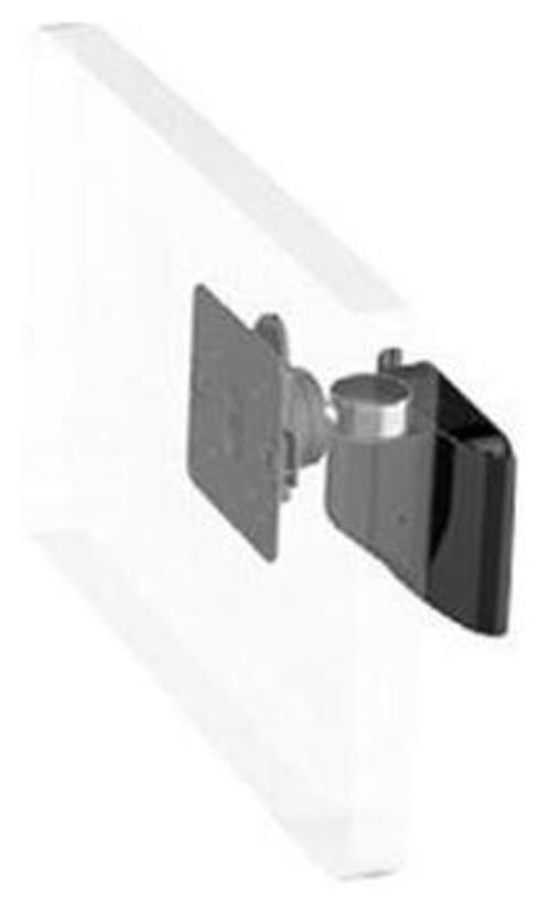 Humanscale M8HB0S-IND Fixed Height Hard Wall Mount - Black