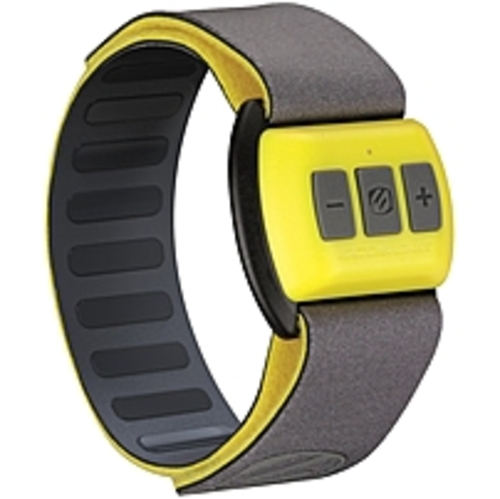 Scosche RTHMA1.5 Bluetooth Pulse Monitor - Forearm Placement - Calorie Counter - Pulse Meter - Yellow / Black