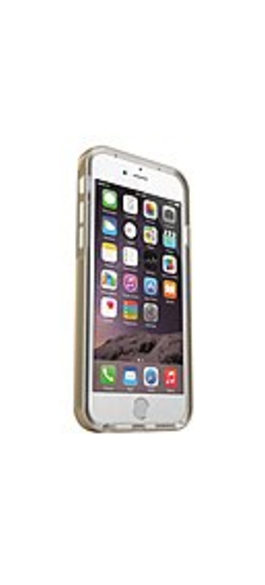 MOTA iPhone 6 Plus LED Flashing Case - Gold - iPhone - Gold, Transparent - Sleek Texture