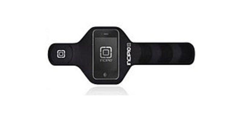 Incipio IPH-653 Performance Armband for iPhone - 17-inch - Black - Neoprene - Incipio Logo