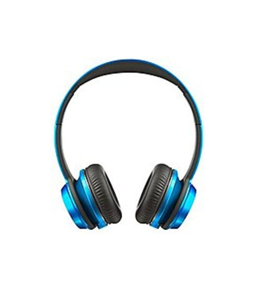 Monster N-Tune 128521-00 High-Performance On-Ear Headphones - Candy Blue