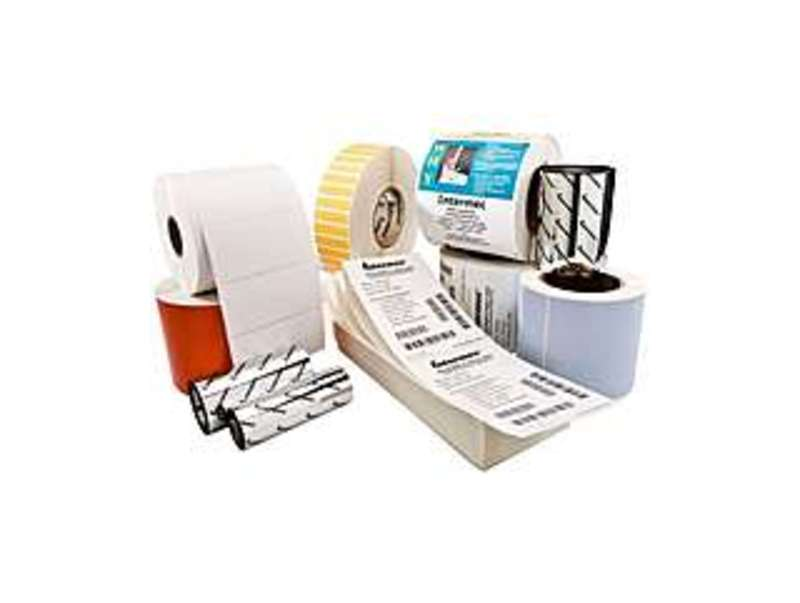 "Intermec DE25733 uratran II Multipurpose Label - Permanent Adhesive - 4"" Width x 6"" Length - 979 / Roll - Rectangle - Thermal Transfer - Polyester - 8"