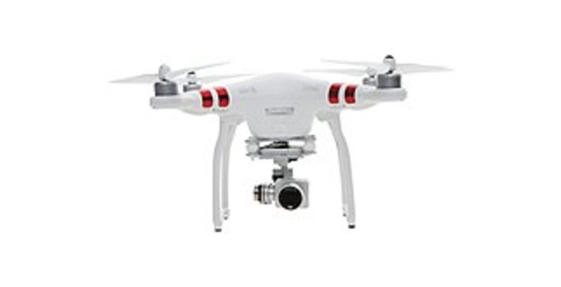 DJI DJI-P3-STD Phantom 3 Standard FPV Quadcopter Drone with 2.7K HD Video Camera and 3-Axis Gimbal