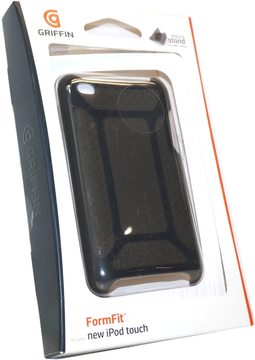 Griffin FormFit GB01958 Protective Cover for iPod Touch 4G - Black