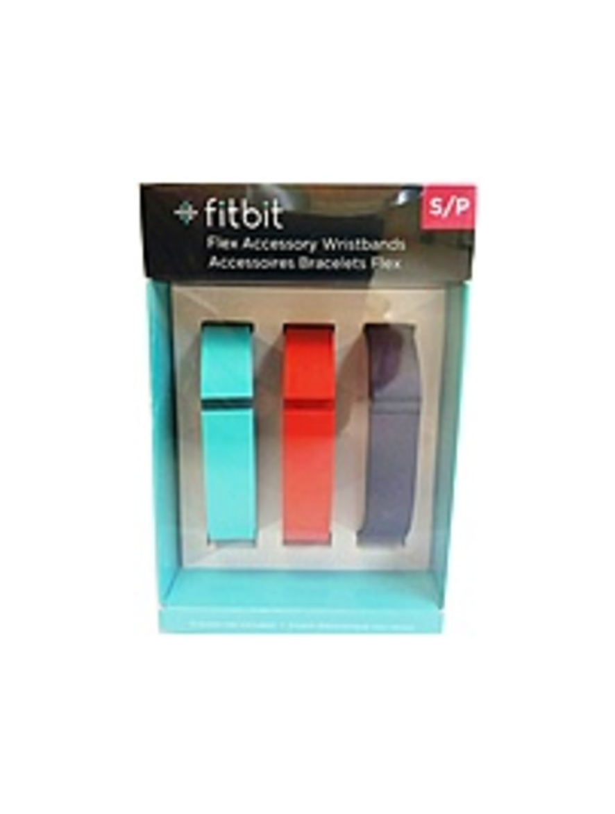 Fitbit Flex Wireless Activity & Sleep Wristband Accessory Pack - Tangerine, Teal, Navy
