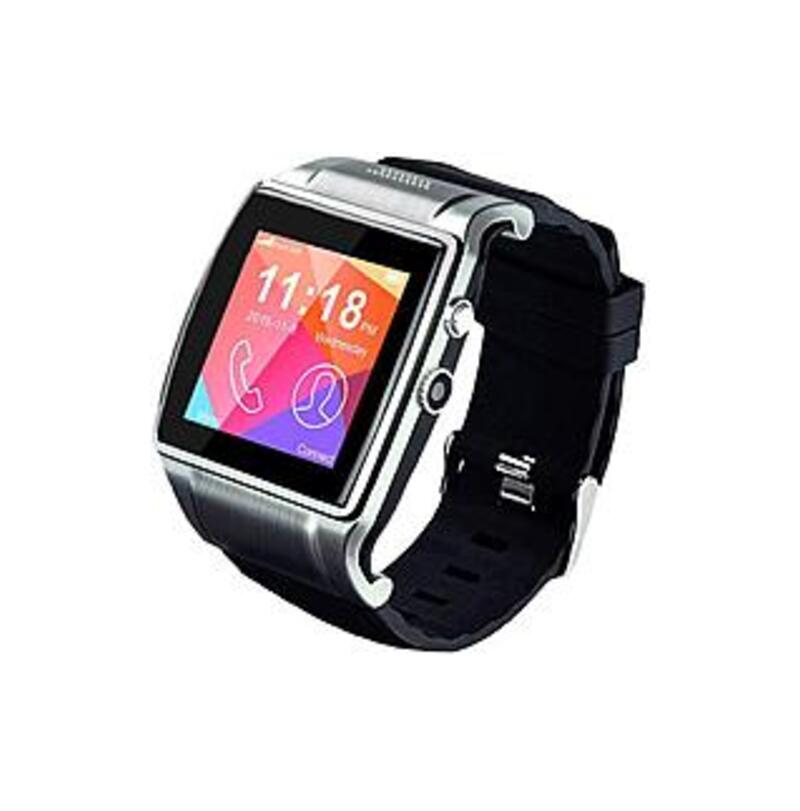 Linsay F993C2CB EX-5L 2015 Executive IPS Touchscreen Smartwatch Bundle with 8 GB Micro SD Card