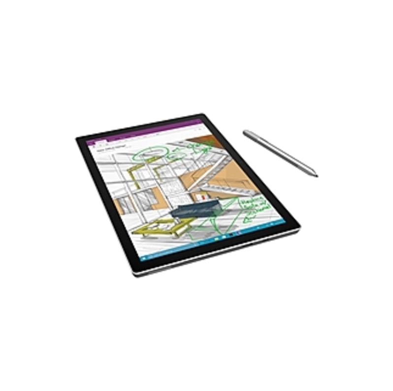 Microsoft Surface Pro 4 Tablet PC - Intel Core i5-6300U 2.4 GHz Dual-Core Processor - 4 GB RAM - 128 GB Solid State Drive - 12.3-inch Touchscreen Disp