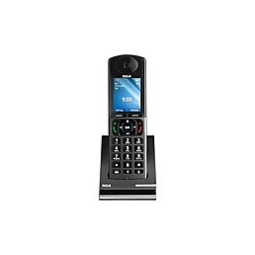 RCA 6-Line DECT Accessory Handset - Desktop - Black, Silver