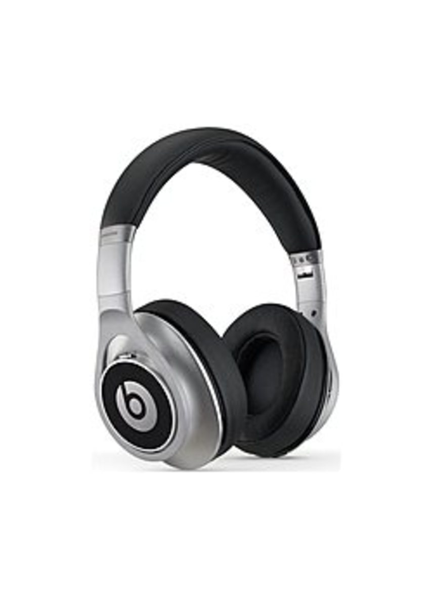 Beats By Dr Dre 900-00047-01 Executive Noise Cancelling Headset - Silver