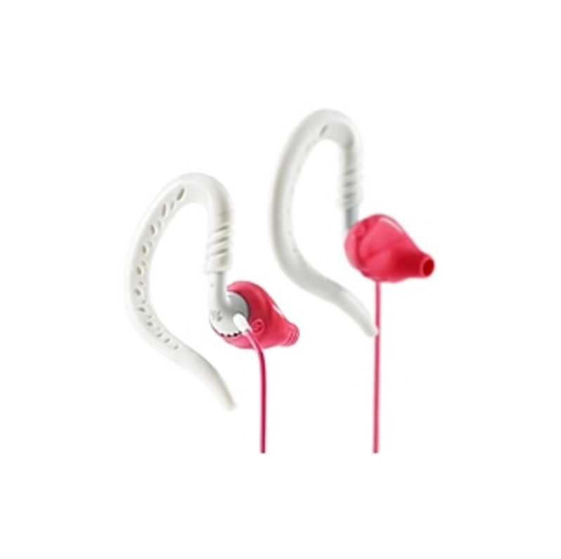 Yurbuds Focus 100 for Women Sport Earphones - Stereo - Pink - Mini-phone - Wired - Over-the-ear - Binaural - In-ear